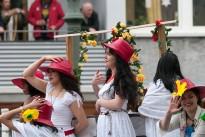 Berlin mit 20. Karneval der Kulturen