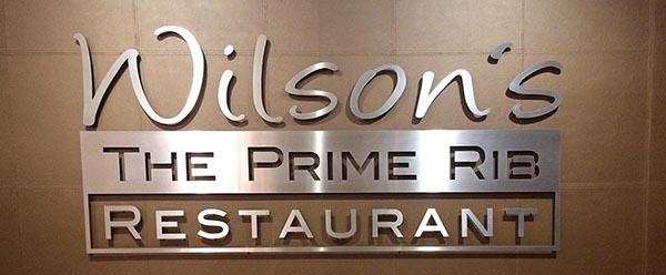 Wilson's THE PRIME RIB Restaurant