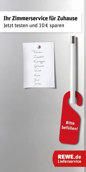 DER-Reisebüro-Kunden erhalten in den nächsten Wochen einen Einkaufsgutschein bei Rewe. Foto: DER