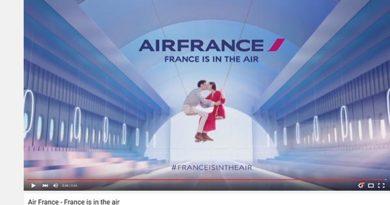 Air France mit dem beliebtesten Reiseclip der Welt