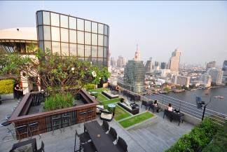 Über den Dächern von Bangkok. Foto: Hilton