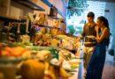 Hilton Bangkok: Drink mit Aussicht und Spitzen-Käse