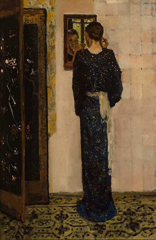 G.H. Breitner, Het oorringetje, 1893. Olieverf op doek, 84,5 x 57,5 cm. Museum Boijmans Van Beuningen, Rotterdam