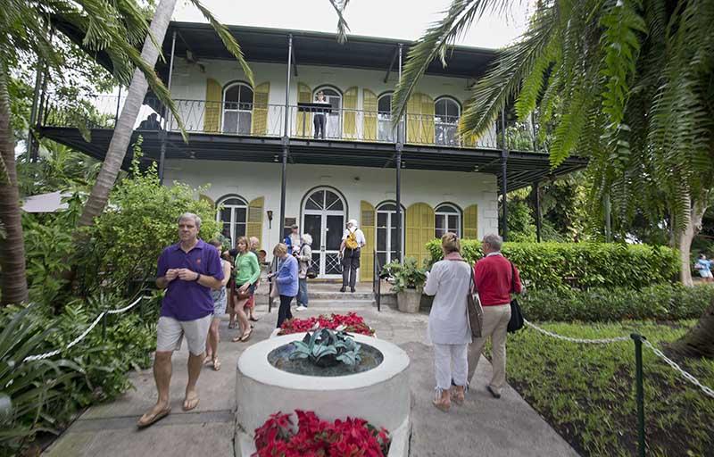 Das Hemingway-Museum. Copyright: Rob O'Neal/Florida Keys News Bureau/HO