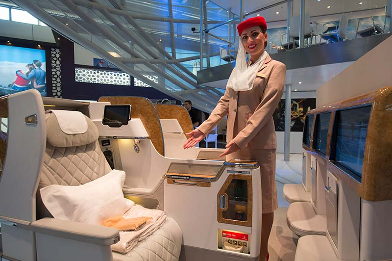Emirates Boeing 777 First Class