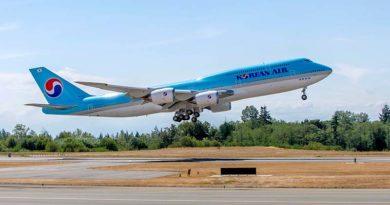 747-8I KAL / Foto: The Boeing Company