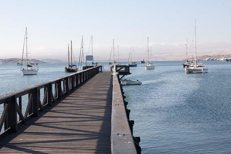 Der Hafen von Lüderitz. Foto: Ingo Paszkowsky