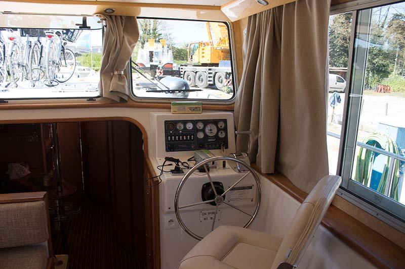 Steuerstand Locaboat Pénichettes
