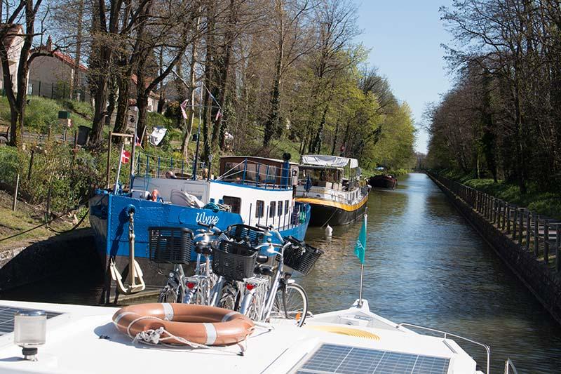 Hausboot-Idylle