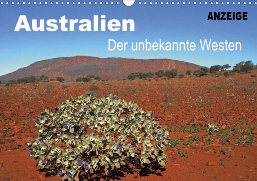 Kalender von WeltReisender.net: Australien, der unbekannte Westen. Western Australia mit spetakulären Ansichten.