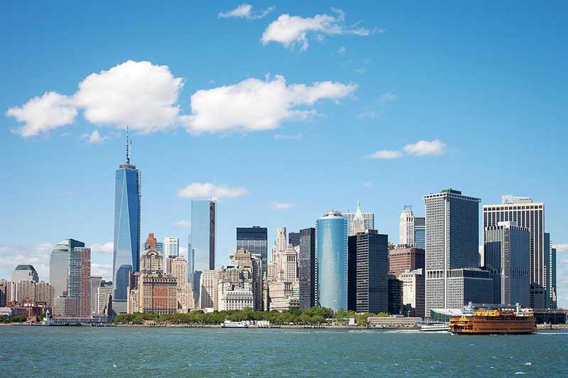 Skyline von New York. Foto: WOW air