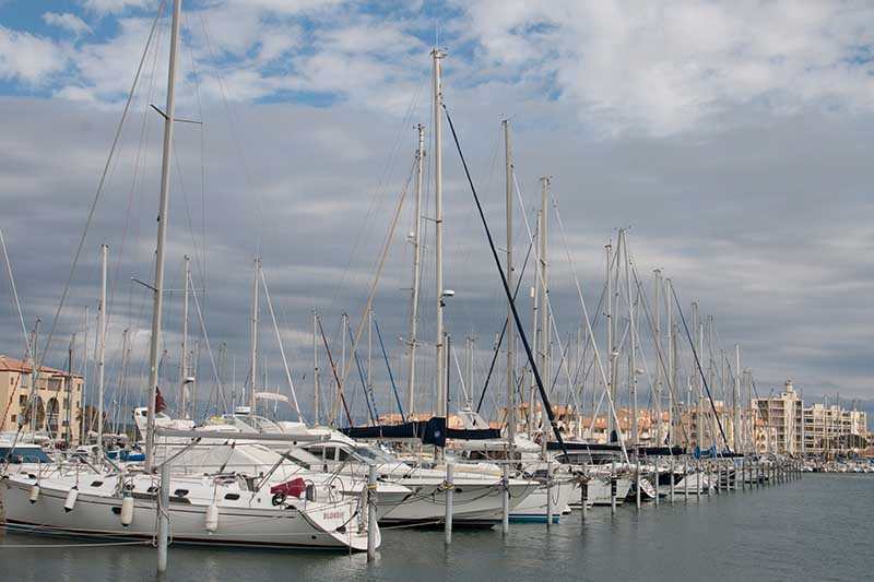 Port Leucate. Foto: Ingo Paszkowsky
