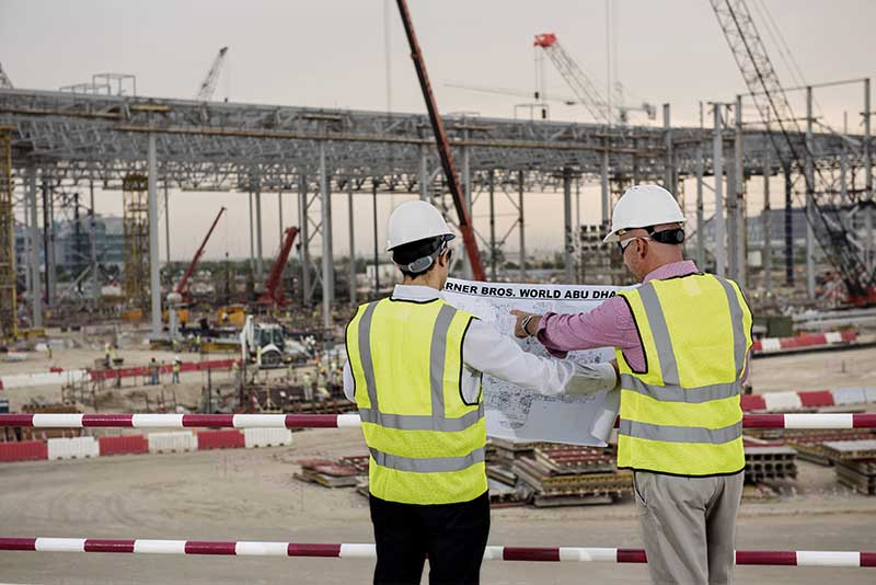 Noch ist Baustelle. Foto: Abu Dhabi Tourism & Culture Authority