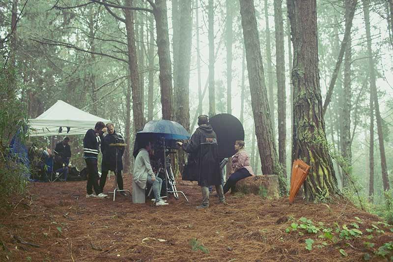 Behind the scenes. Foto: Johnnie Walker