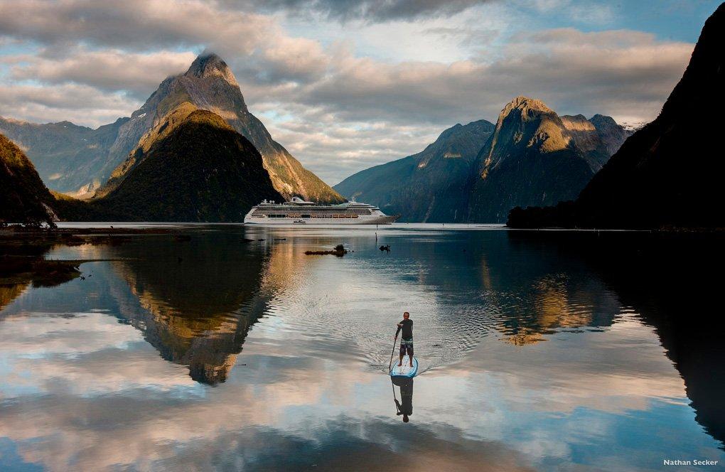 Milford Sound. Foto: Nathan Secker