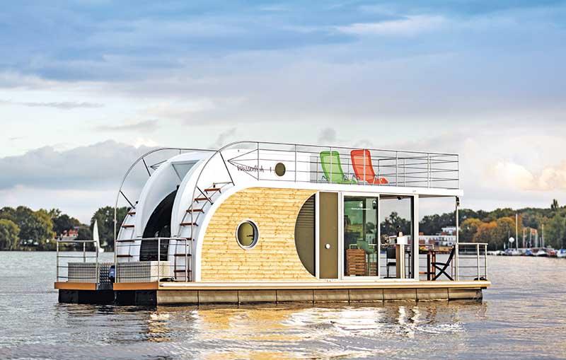 Sogar Hausboote kann man über Novasol buchen. Foto: Novasol