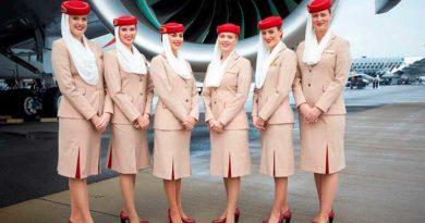 Emirates sucht zukünftige Flugbegleiter. Foto: Emirates