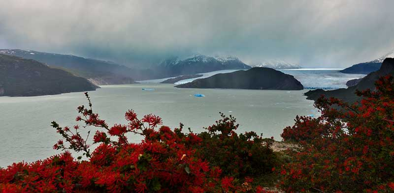 Patagonien - Grey Lake. Foto: goXplore / Paul Spierenburg