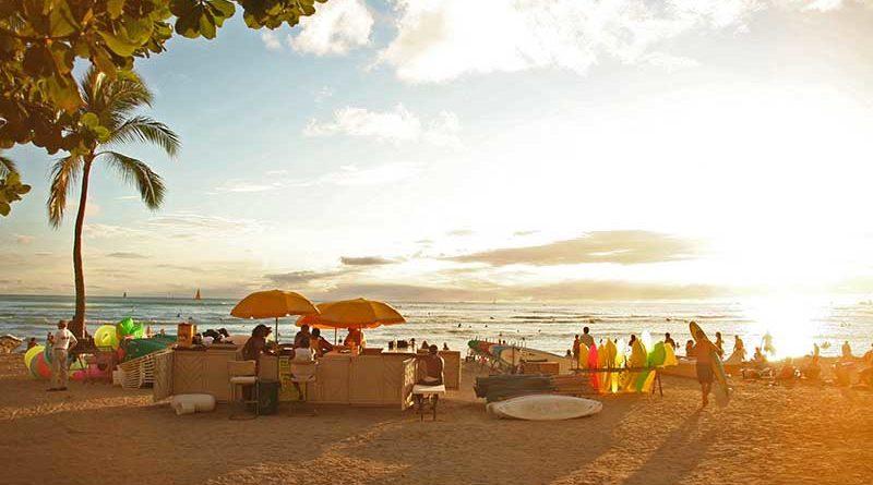 Der Waikiki-Strand ist einer der berühmtesten Strände der Welt. Foto: pixabay.com / dongpung