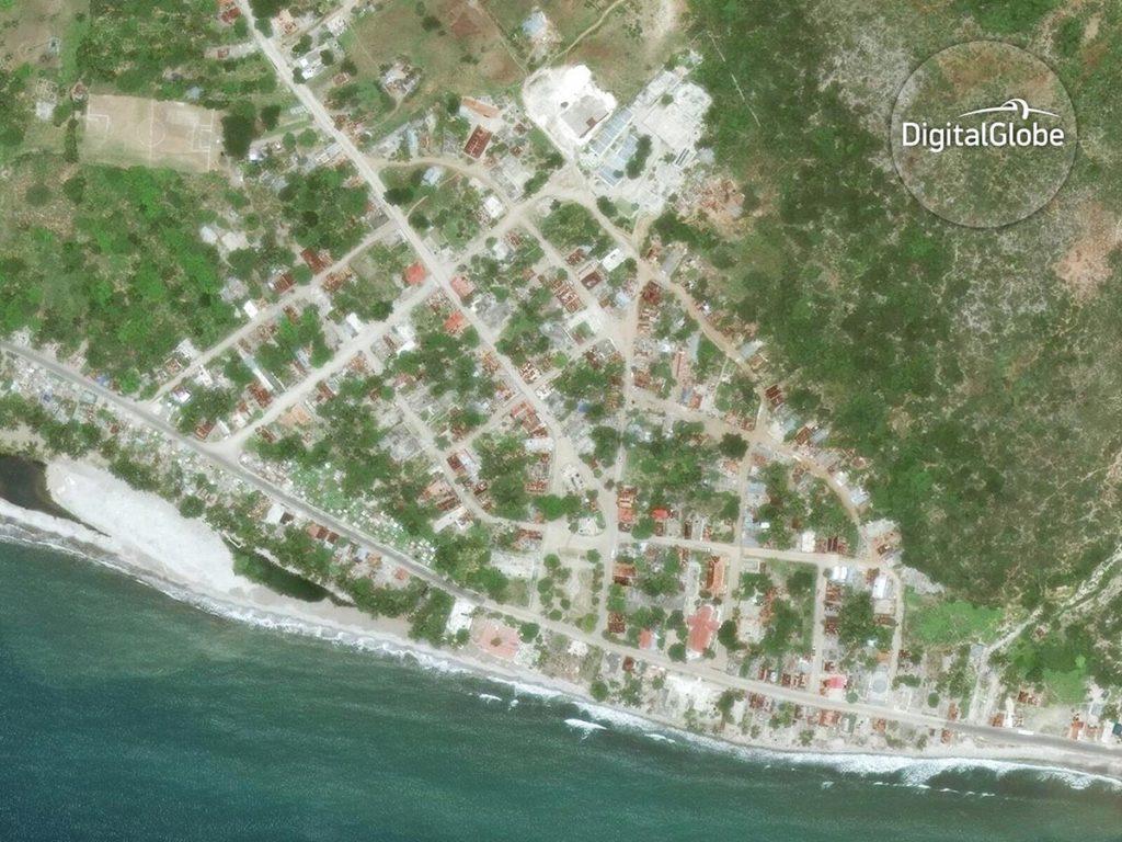 Port a Piment in Haiti am 9. Juni 2013. Image Copyright 2016 DigitalGlobe Inc