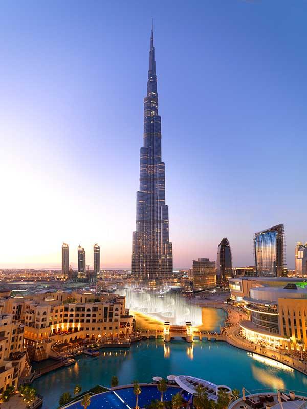 Burj Khalifa. Foto DTCM