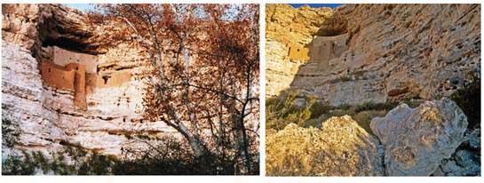 """Montezuma National Monument – Das 800 Jahre alte """"Schloss"""" in der Wüste. Foto: Arizona Office of Tourism"""