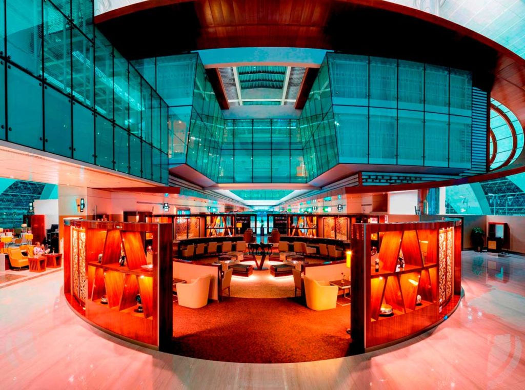 Neue Business Class Lounge in Dubai