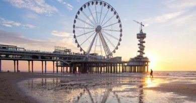 Holland: Übernachten über dem Meer