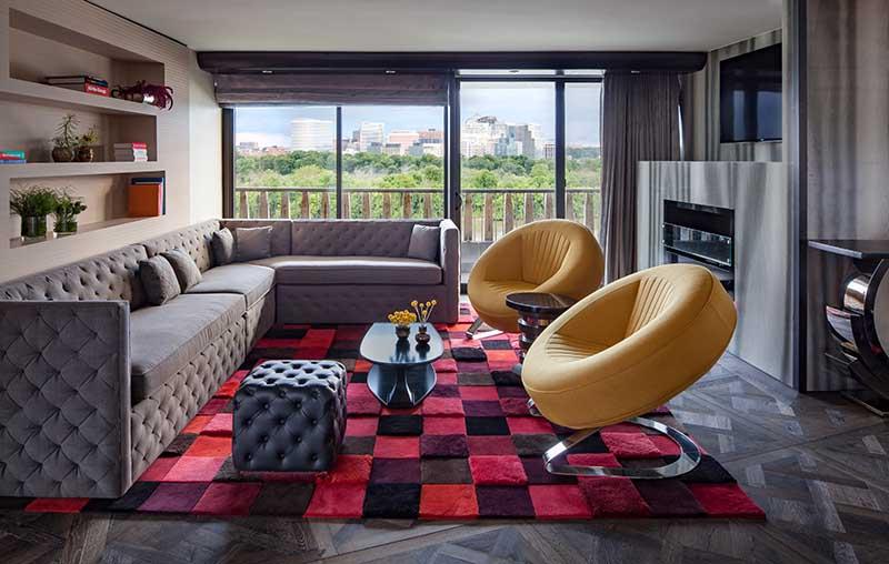 The Watergate Hotel. Foto: Hotels.com / Ron Blunt