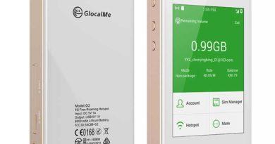 GlocalMe G2: Mobiler WiFi-Router für (fast) alle Mobilfunknetzte dieser Welt