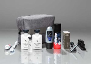 Business Class Amenity Kit für Herren. Foto: Emirates