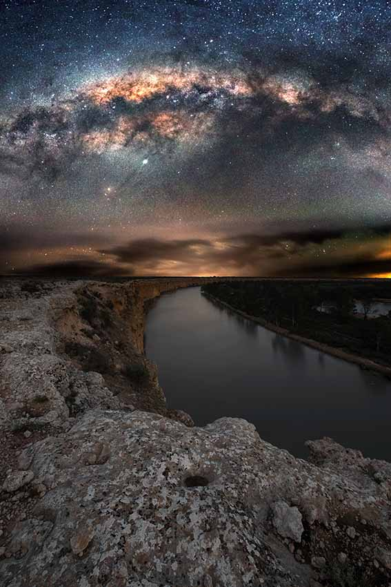 Die River Murray-Region ist einer der dunkelsten Orte, die je gemessen wurden. / Copyright blntpencil / South Australian Tourism Commission