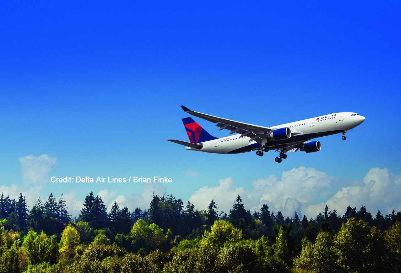 Airbus 330-200 (332) beim Take-off / Credit: Delta Air Lines / Brian Finke