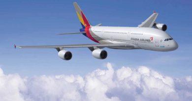 Asiana Airlines Südkorea: Reisen im A380 von Frankfurt nach Seoul – die Sitzplatzkonfiguration und der Service