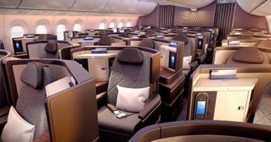 Business Class EL AL Boeing 787-9. Foto: EL AL