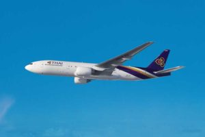 Boeing 777-200ER - verbindet bald Wien mit Bangkok. Foto: Thai Airways / Clay Lacy Aviation Astrovision