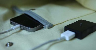 Solartasche lädt Smartphone, Tablet und Co. via USB-Anschluss