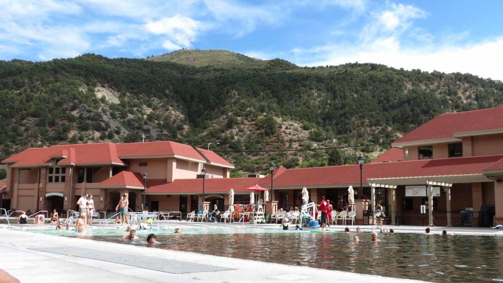 Glenwood Hot Springs. / Foto: WeltReisender.net / Stefanie Gendera