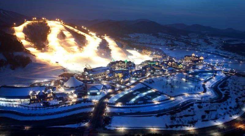 Korea: Countdown für die Olympischen Winterspiele PyeongChang2018