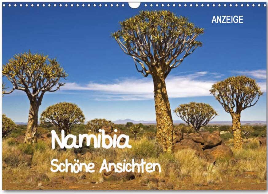 Kalender von WeltReisender.net: Namibia - Schöne Ansichten
