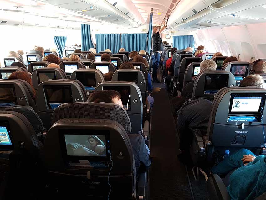 SK925 von Kopenhagen nach Washington, D.C. / Foto: WeltReisender.net / Stefanie Gendera