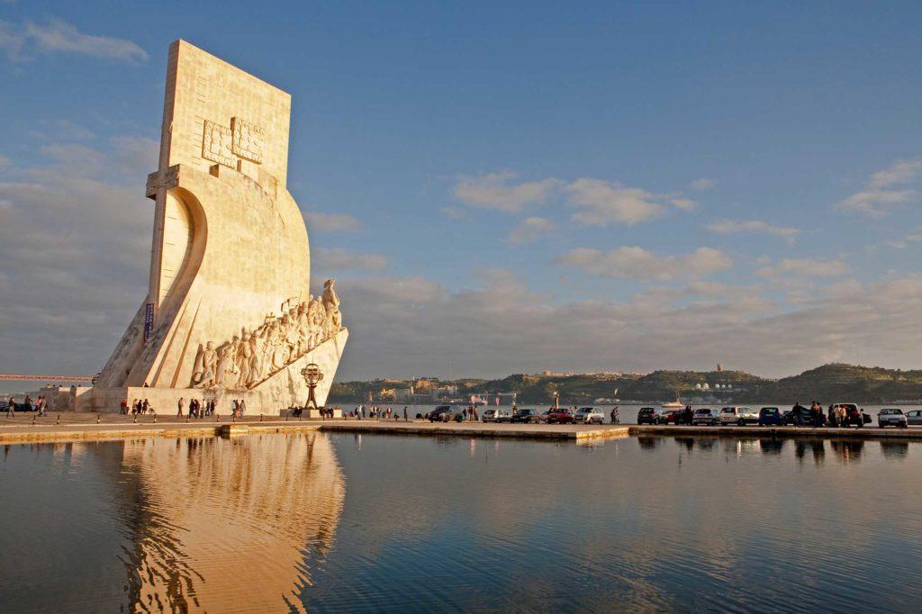 Padrão dos Descobrimentos (Denkmal der Entdeckungen) mit Heinrich dem Seefahrer an der Spitze in Belém am Ufer des Tejo. Foto: Ingo Paszkowsky