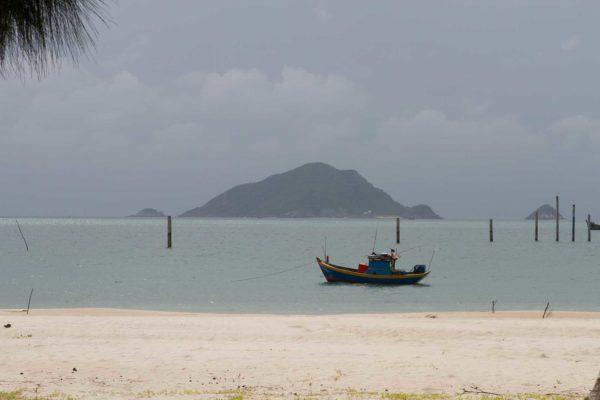 Die vietnamesische Inselgruppe Con Dao: Noch ein Paradies, aber vermutlich nicht mehr lange, denn es werden auf der Hauptinsel kräftig Hotels gebaut. Foto: Ingo Paszkowsky
