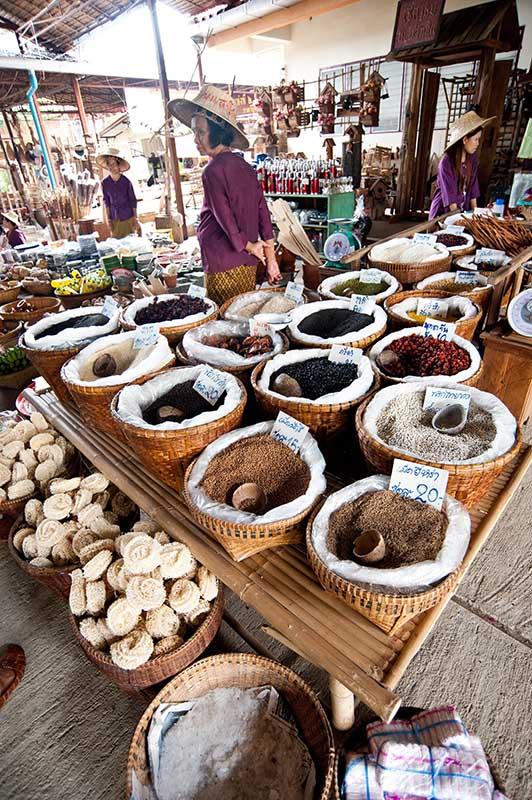 Gong Kong Market, Phra Nakhon Si Ayutthaya. Foto: TAT