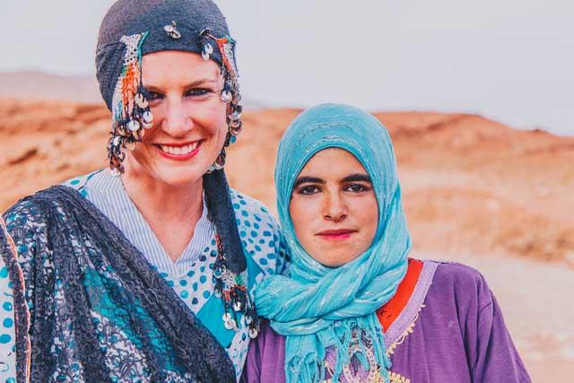 Die von Reiseleiterinnen geführten Touren überwinden die Barrieren des traditionellen Tourismus und schaffen ein tieferes Verständnis der weiblichen Kultur in den bereisten Ländern. Fotocredit: Ryan Bolton