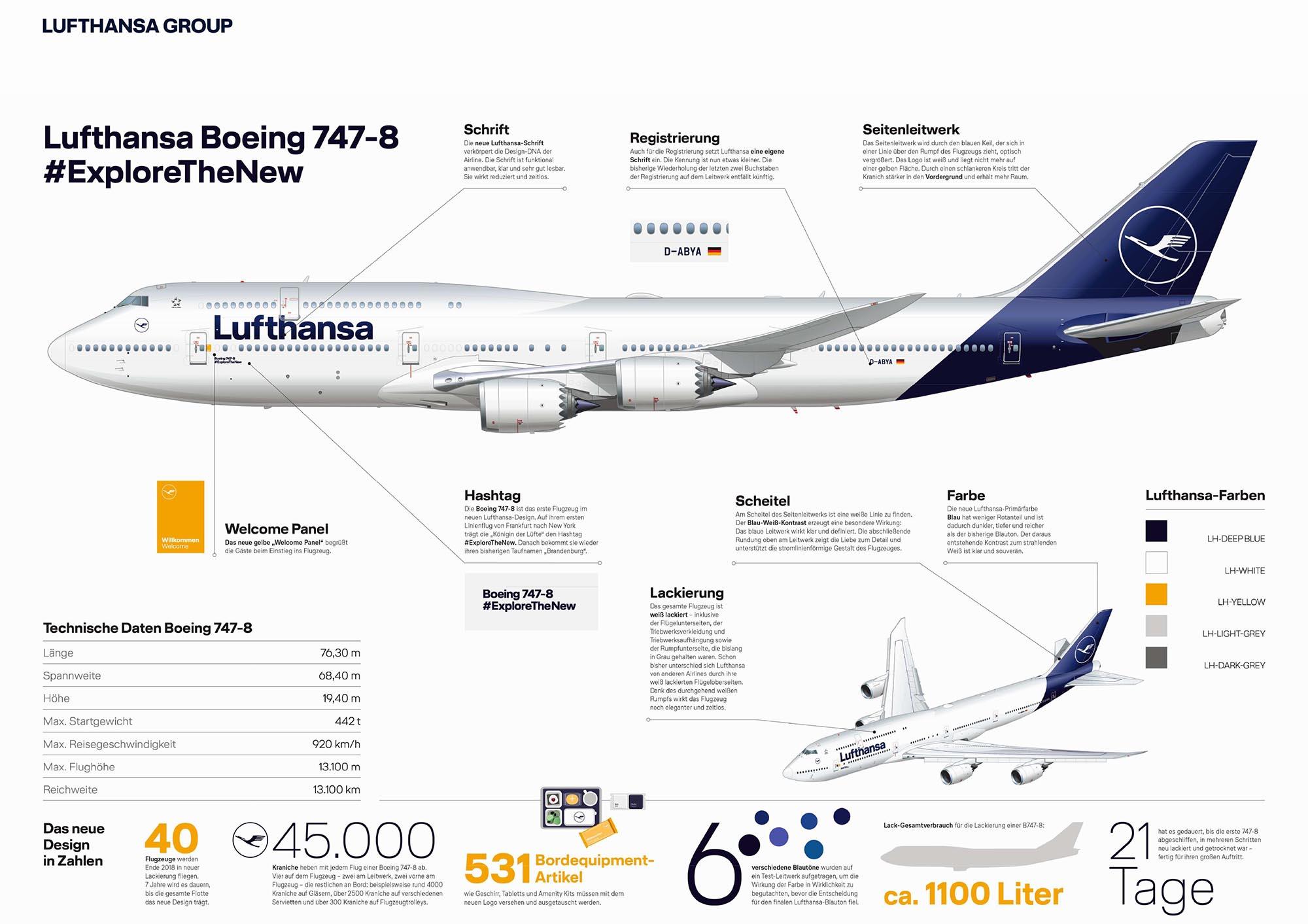 Sitzplätze Und Service In Der Lufthansa Lang Und Mittelstrecke