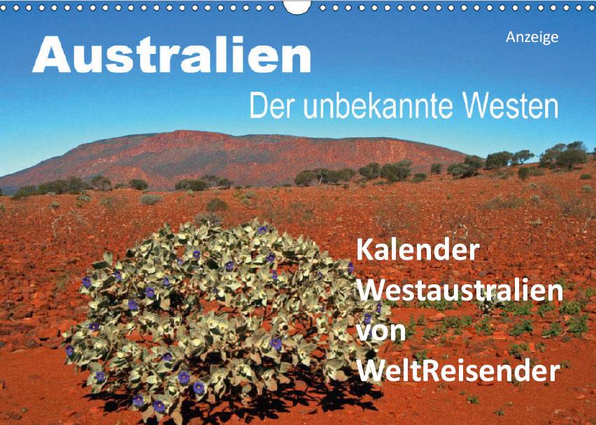 Kalender 2021 Westaustralien