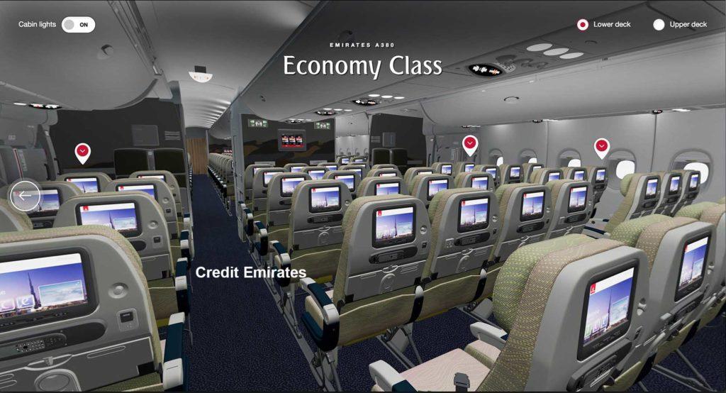 Die Flugzeuge von Emirates via 3D-Animation erkunden / Foto: Emirates