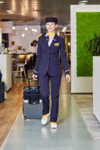 Einmal in Turnschuhen zur Arbei. Weltweiter Lufthansa Sneaker Day am 24. August 2018. Foto: Lufthansa