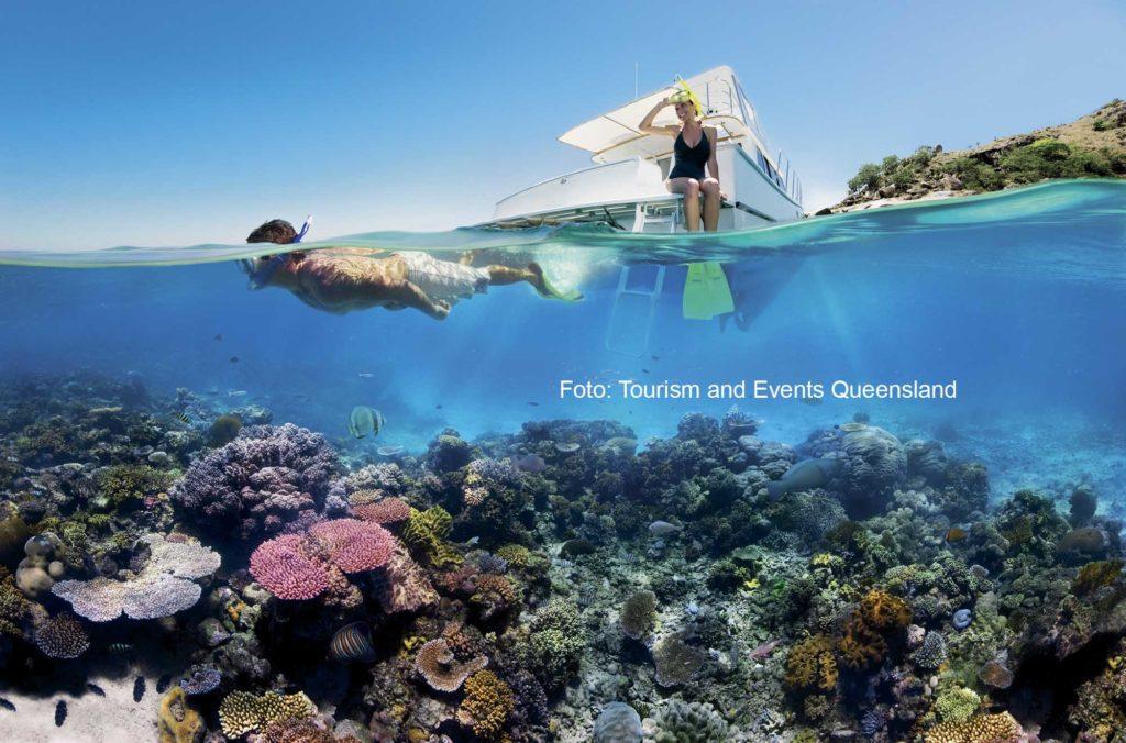 Dem Great Barrier Reef vor Queensland soll es wieder besser gehen. Foto: Tourism and Events Queensland